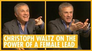 Christoph Waltz On The Importance Of A Strong Female Lead In Alita: Battle Angel