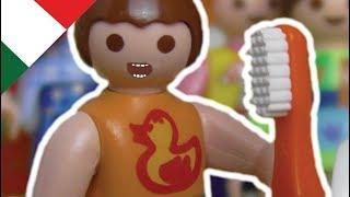 Playmobil film italiano Il dentista visita la Scuola Materna - La famiglia Hauser