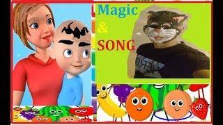 Dance Vegetables Song | Five Little Babies | Kids Songs | Nursery Rhymes SurpriseJouets | Magic #2