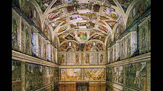 Mosaico della bell'Italia  Programa n° 206  Capilla Sixtina.
