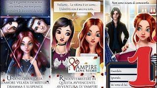 VAMPIRE LOVE STORY PARTE 1 - chi è quel tizio?