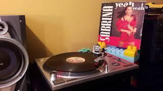 YEAH YEAH (Mix version) Vinilo 45 Sabrina Salerno.