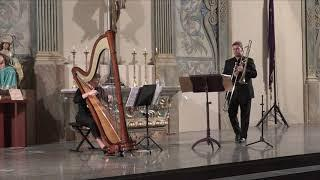 Recital trombón & arpa  Francesc Rozalen Heredia  y  Ana Martínez Cano (27 - 10 - 2018 )