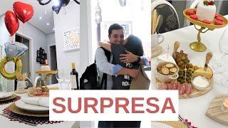 JANTAR SURPRESA PARA O MARIDO - ANIVERSÁRIO DE CASAMENTO