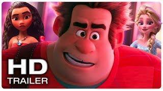 WRECK IT RALPH 2 Full Movie Trailer #2 (2018) John C. Reilly Disney Animated Movie HD