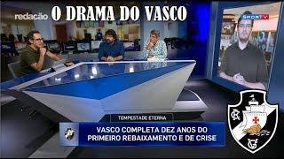 VASCO TEM VIVIDO DRAMAS COM DIVIDAS E REBAIXAMENTOS
