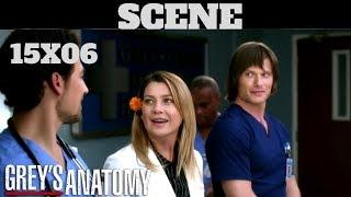 Grey's Anatomy 15x06 SCENE Meredith, Link and Deluca Season 15 Episode 6 HD Grey's Anatomy S15E06