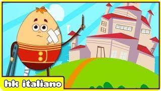 Humpty Dumpty Sab su un muro Canzoni per bambini e filastrocche by Hooplakidz Italiano