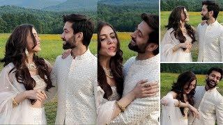 Ishqbaaaz fame Nakuul Mehta and and Jankee Parekh recreats DDLJ Romance Amidst 'Sarson Ke Khet'