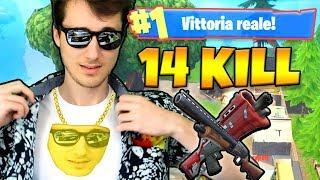 LA MIA PRIMA WIN CON 14 KILL - Fortnite ITA