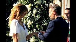 Daniele Bossari e Filippa Lagerback si sono sposati: le nozze social dopo 17 anni...