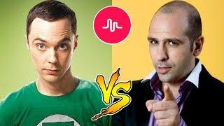 SHELDON COOPER vs CHECCO ZALONE - TIK TOK BATTLE