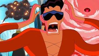 Justice League Action in Italiano | Plastic Man è il miglior Super Eroe | DC Kids