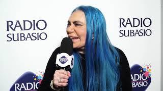 Sanremo 2019: Loredana Berté intervistata a Radio Subasio