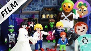 Playmobil film italiano| Famiglia Vogel alla FESTA dei MOSTRI in casa paurosa da Frankie