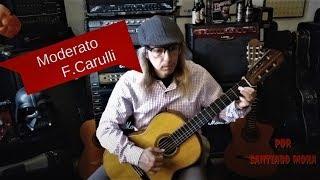 MODERATO DE FERNANDO CARULLI GUITARRA DEL ROMANTICISMO POR SANTIAGO MORA