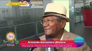 ¡Armando Manzanero nunca dudó del éxito de 'Romances'! | Sale el Sol