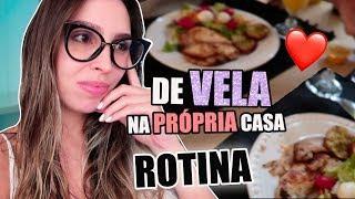 ROTINA: QUEIMEI a CAFETEIRA, GRAVAÇÃO pro INSTAGRAM e JANTAR ROMÂNTICO (eu de vela) | Julia Tedesco
