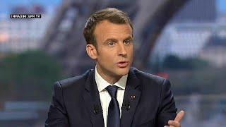 """Siria: Macron """"ho convinto Trump"""""""