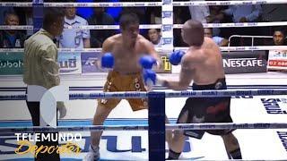 El brutal KO que le costó la vida a una leyenda del Muay thai | Boxeo Telemundo | Telemundo Deportes