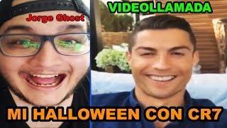 Cristiano Ronaldo me LLAMA por VIDEOLLAMADA en NOCHE de HALLOWEEN