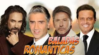 RICARDO MONTANER, LUIS MIGUEL, MARCO ANTONIO SOLÍS, ALEJANDRO FERNANDEZ EXITOS Canciones Romanticas