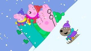 Peppa Pig Italiano ⛄ Una fredda giornata d'inverno ⛄ Collezione Italiano - Cartoni Animati