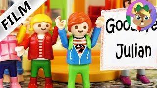 Playmobil film italiano   ULTIMO GIORNO ALL'ASILO-Julian va a scuola   famiglia Vogel