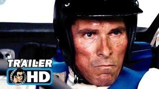 FORD V. FERRARI Trailer (2019) Christian Bale, Matt Damon Movie