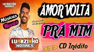 Luanzinho Moraes - Amor Volta Pra Mim - CD INÉDITO - Promocional 2018 - Repertório Novo