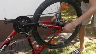 Smontaggio e rimontaggio ruota posteriore con freni a disco mtb Giant