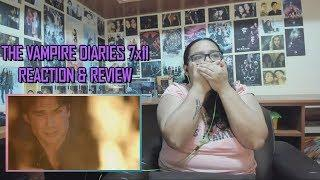 "The Vampire Diaries 7x11 REACTION & REVIEW ""Things We Lost in the Fire"" S07E11 
