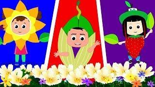 Ci Vuole Un Fiore | rima per bambini | bambini canzoni | It Takes A Flower | Kids Tv Italiano