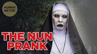 Scary Nun Prank in the Philippines: Run ???????????? | HumanMeter