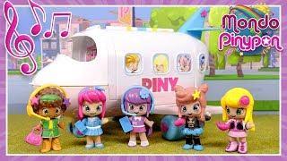 L'aereo ufficiale dell'Istituto PINY! Le ragazze vanno in viaggio per prima volta!