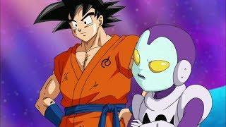 Goku si interessa del salto temporale DBS ITALIANO