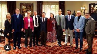 NOBEL LAUREATES AND PHYSICS RUMBLE AT SHAMY'S RECEPTION!?!?!?!-The Big Bang Theory 12X18HD