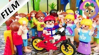 playmobil film italiano  Sbruffone a scuola - Hannah è gelosa  famiglia Vogel