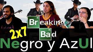 Breaking Bad - 2x7 Negro Y Azul  - Group Reaction