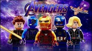 Lego Stop Motion | Lego Marvel's Avengers Endgame | Funny Video