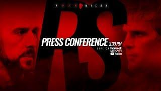 Pepe Reina and Ivan Strinic's presentation press conference