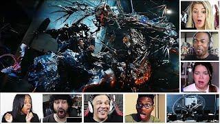 Reactors Reaction To The Epic Venom VS Riot Scene From The Official Venom Trailer #2