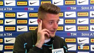 Le parole di Sergej Milinkovic nel post Inter-Lazio
