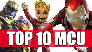 TOP 10 FILM Marvel Cinematic Universe