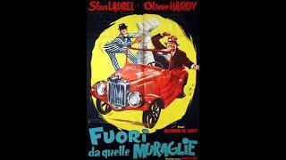 STANLIO E OLLIO FUORI DA QUELLE MURAGLIE (1946) RIMONTAGGIO ITALIANO COMPLETO