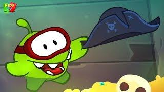 Om Nom Stories | Sunken Ship | Around The World | Animated Kids Videos | Funny Cartoons for Kids