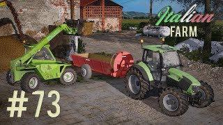 Italian Farm - Spandimento letame all'italiana #73