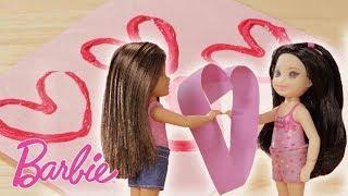 Decorazioni di San Valentino Fai Da Te ????Club Chelsea! ????Video di Bambole Barbie ????Barbie Ital