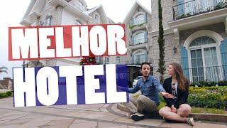 O HOTEL MAIS BEM AVALIADO da América do Sul | Colline de France