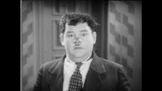 """STANLIO E OLLIO """"NON ABITUATI COME SIAMO"""" (1929) FILM COMPLETO ITALIANO"""